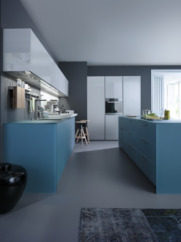 Largo Fg Ios M 2013 Renaissance Of Color Kitchen Cabinets Leicht New York