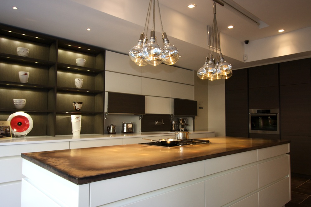 leicht ny modern kitchen cabinet showroom: broadway