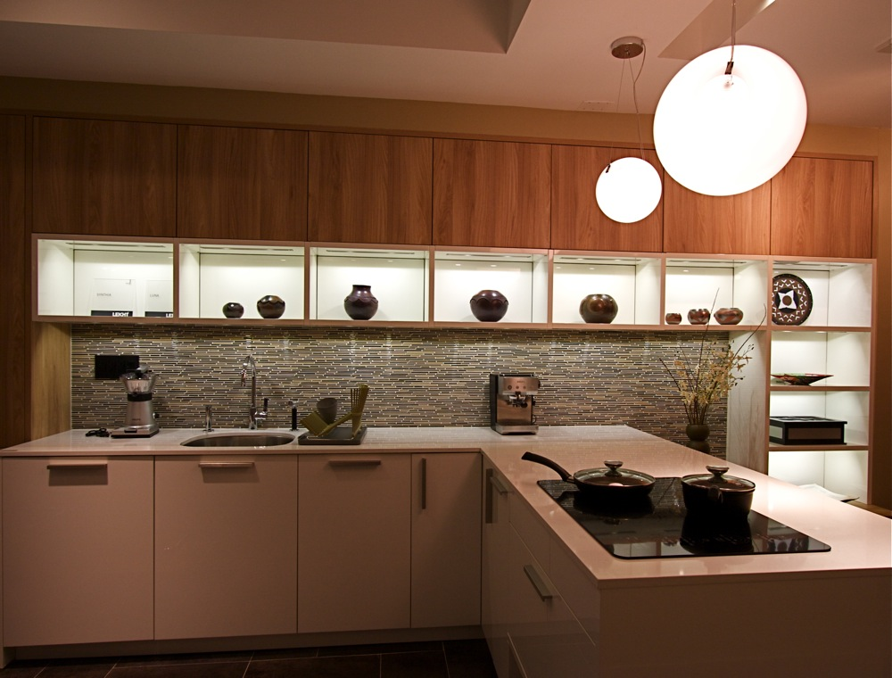 Manhattan Ny Kitchen Showroom Transitional Kitchen Renovation Kitchen Cabinets Leicht New