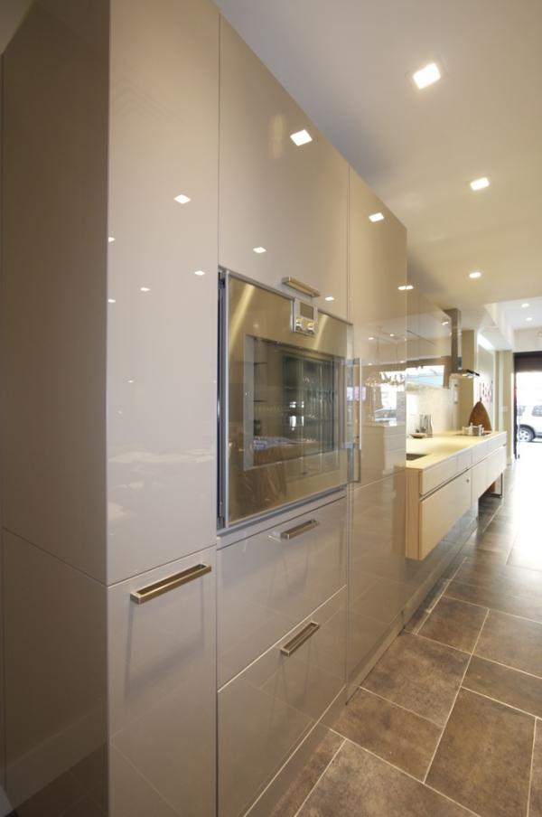 Manhattan Ny Kitchen Showroom Luna Built In Gaggenau Leicht New York