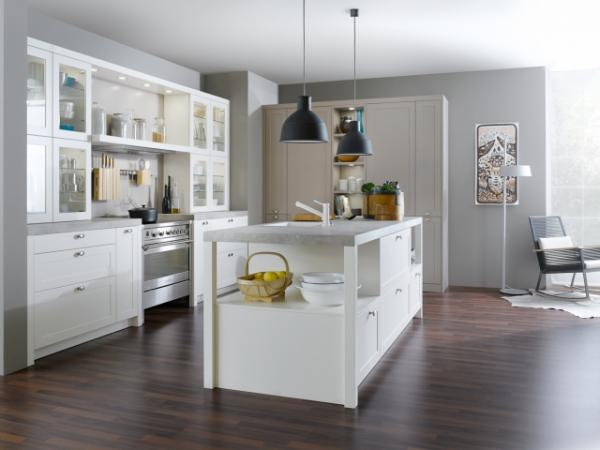 Traditional Kitchen Styles Kitchen Cabinets Leicht New York - Kitchens in grey tones