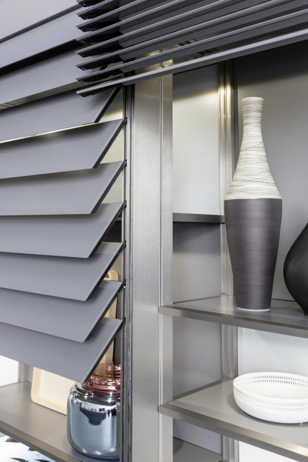 LEICHT Xtend+ Motorized Front Blinds | Kitchen Cabinets