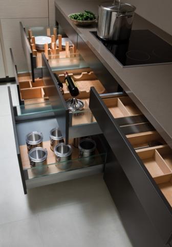 Kitchen Drawers - Organized By Design - LEICHT New York ...